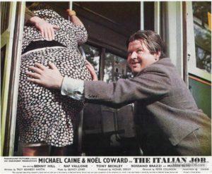 Benny Hill the italian job